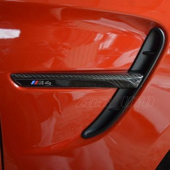 Carbon Fiber Fender Trims for BMW M4 F82 M3 F80 Replace Exterior Carbon Styling Parts