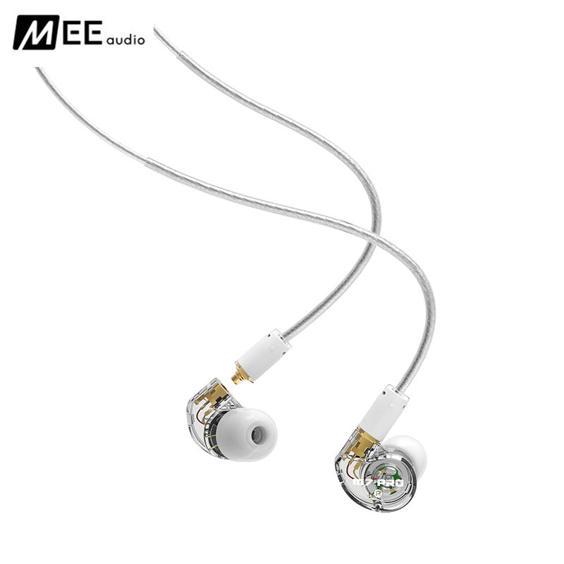 New Original MEE Audio M7 PRO Balanced Armature + Dynamic Hybrid Dual-Driver BA+DD Noise Cancelling Music HIFI Monitor Earphones hosa pro balanced rean dual 1 4 inch trs interconnect cable