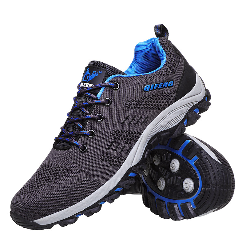 Hiking-Shoes Trekking Boots Sneskers Climbing Walking Outdoor Fishing Sport New Men Athletic title=