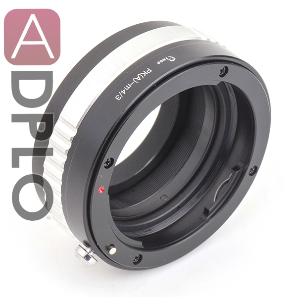 Pixco Adjustable Aperture Lens adapter suit for Pentax K mount DA lens to Micro 4/3 M4/3 Olympus OM-D E-M5 II E-M1 E-M5 E-M10