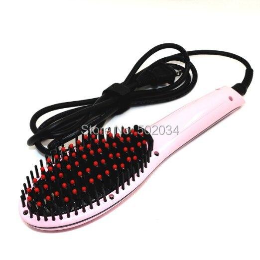 все цены на  DHL&EMS Freeship 3pc/Lot Brush Hair Straightener,Best Anti Scald Anti Static Ceramic Heating Brush,Datangling Hair Brush supply  онлайн