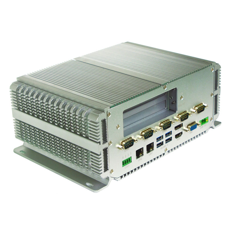 Multi Embedded Fanless Mini PC Intel Core I3 Processor 6*com 2*Lan With Windows10 Linux Industrial Computer