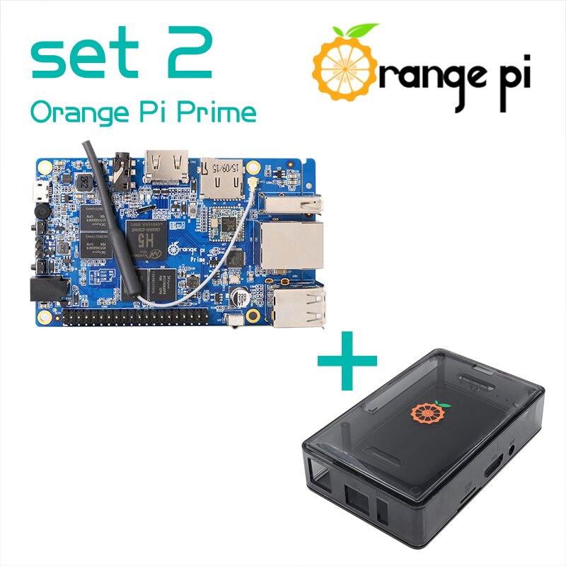Orange Pi Prime SET2 OPI Prime Black Transparent ABS Case