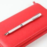 Japan Imported OHTO Tasche Pocket Metal Fountain Pen FF 10T 0.5mm Creative Fashion Mini Pocket Pen F Nib 1PCS