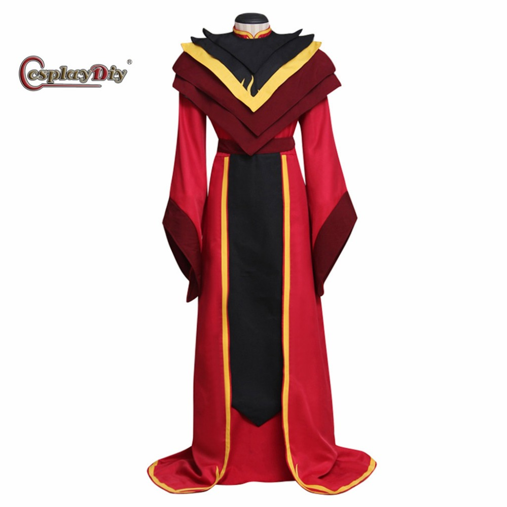 Avatar: The Legend of Aang The Last Airbender Fire Lord Ozai Costume Adult Men Halloween Carnival Cosplay Clothes Custom Made J5