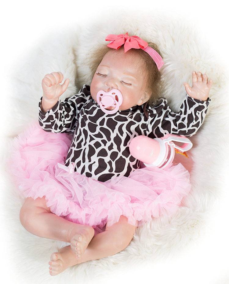 Reborn baby silicone dolls  2048cm fake baby real sleeping dolls toys for child gift  bebes reborn de silicone real bonecasReborn baby silicone dolls  2048cm fake baby real sleeping dolls toys for child gift  bebes reborn de silicone real bonecas