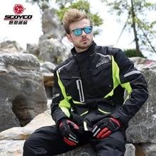 2017 Winter New SCOYCO weaterproof cross-country motorcycle Jersey jacket JK42 Motorbike Racing suits jaclets 600D Oxford cloth