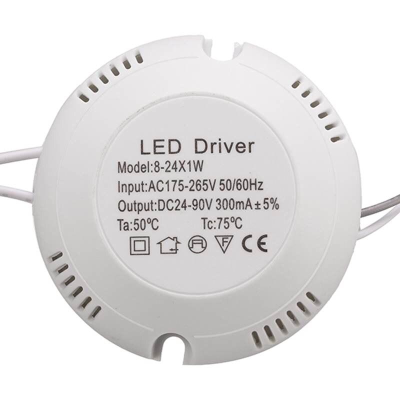 8-24W LED Driver AC175-265V To DC 24-80V Power Supply Lighting Transformer For LED Ceiling Light Lamp