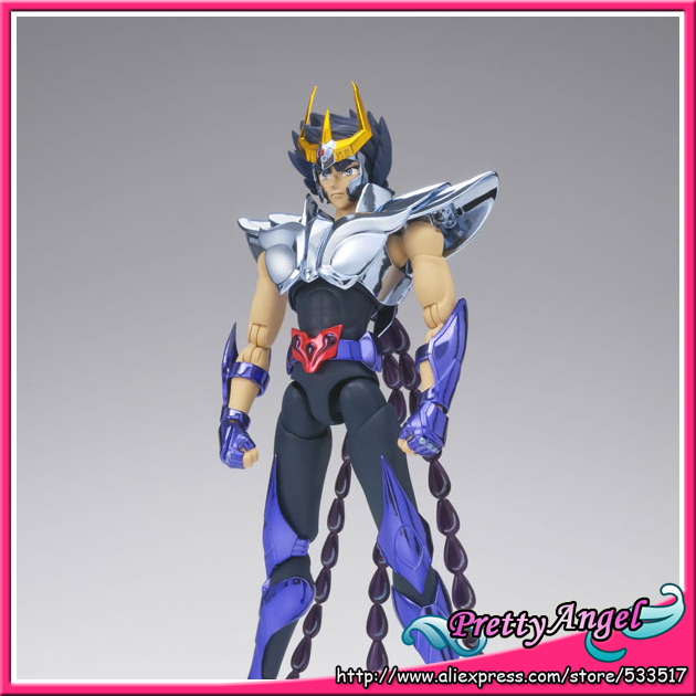 цена на Japanese Anime Original Bandai Saint Seiya Saint Cloth Myth EX Phoenix Ikki(New Bronze Cloth) Action Figure