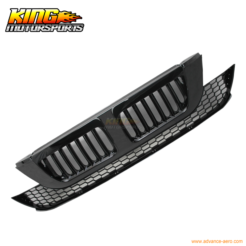 For 07 08 09 Honda CRV JDM Black VERTICAL Hood Grill Grille USA Domestic Free Shipping Hot Selling for 2004 2008 ford f150 chrome vertical front hood grill grille usa domestic free shipping hot selling