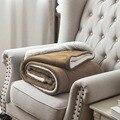 Doppel schicht Decke Dicke Weiche Decke für Sommer Sofa Couch Bett Flugzeug 130*160 cm