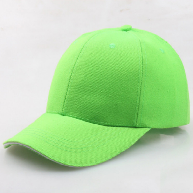 Blank Green   Baseball     Cap   Hip Hip Adjustable Spring Summer Solid Snapback Hat For Women Vintage Trucker Hat   Cap   K pop Men Hat