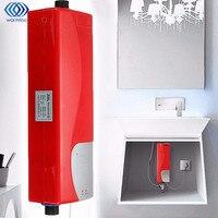 3000W Mini Instant Electric Water Heater Bath Shower Heater Bathroom Kitchen Basin Sink Tap Faucet AU