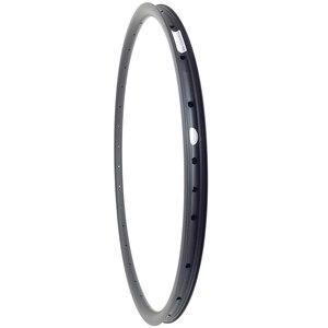 Image 5 - Hafif 310g 29er XC asimetrik kancasız MTB karbon jant 30mm x 22mm UD mat parlak 25mm iç genişlik dağ bisikleti tekerleği
