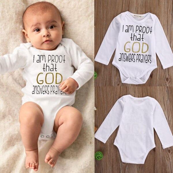 Newborn Kids Baby Boy Girl Infant Romper Jumpsuit Bodysuit Cotton Clothes Outfit
