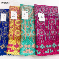 2017 Latest Swiss voile lace,African Guipure Lace Fabric With Stones+beads,Embroidered French Net Lace Fabric for noble dresses