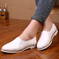 New Arrival Women Flats Genuine Leather Casual White Ladies Brand Flat Shoes Women Oxford Shoes For Women Leather Shoes