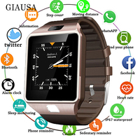 Hot Selling 3G WIFI QW09 Android Smart Watch Bluetooth 4.0 Real Pedometer SIM Card Call Anti lost Smartwatch PK DZ09 GT08