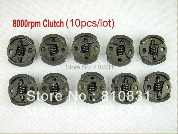 10pcs Clutch(8000RPM) for baja 23cc,26cc, 29cc,30.5cc Free Shipping free shipping 10pcs lc7219