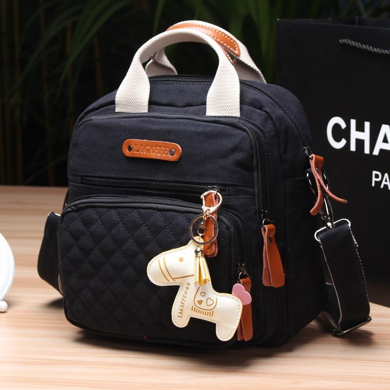 New Fashion Baby Diaper Bag Nappy Bag for Mom Multilayers Stroller Bags bolsa maternidade Women Canvas
