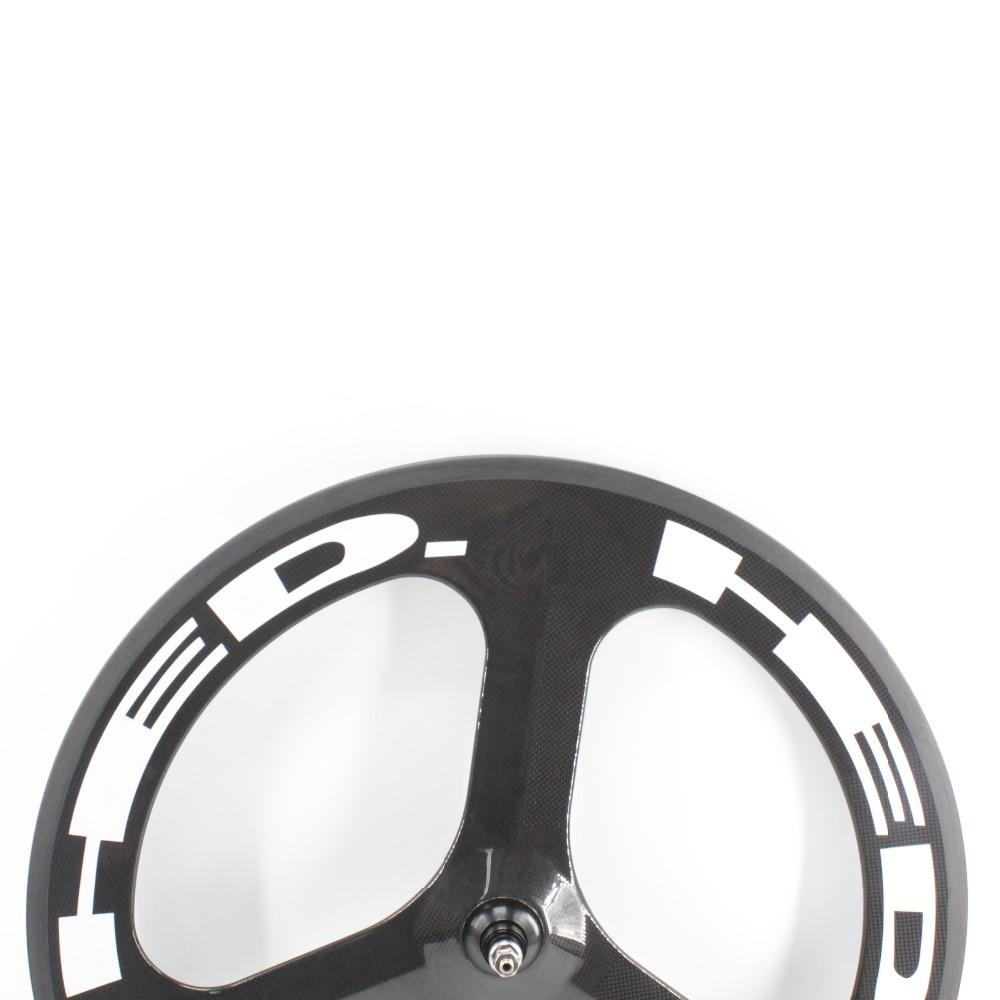 d1b43f98a11b4 ᑐ1 par nuevo 700C Road Track fixed gear bike 3 K Ud 12 k fibra de ...