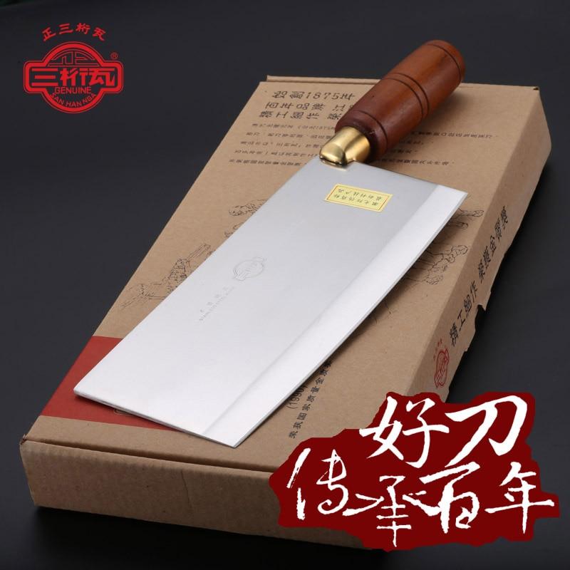 Free Shipping Handmade Kitchen Chop Bone Cut Meat Dual purpose font b Knife b font Professional