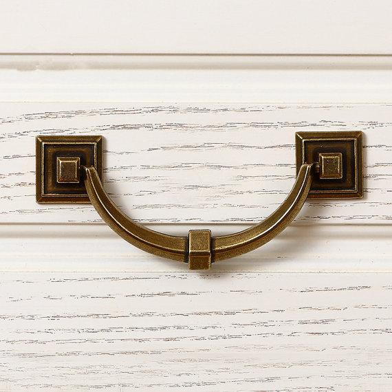 3.75'' 5'' Antique Brass Drawer Pulls Vintage Door Handles Kitchen Hardware Dresser Cabinet Pulls Cupboard Handles 96 128 mm indigo kids ботинки indigo kids 50 246a 12 синий