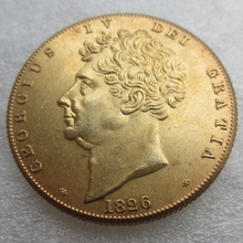 UK 2 Pounds – George IV 1826  United Kingdom Copy Coins