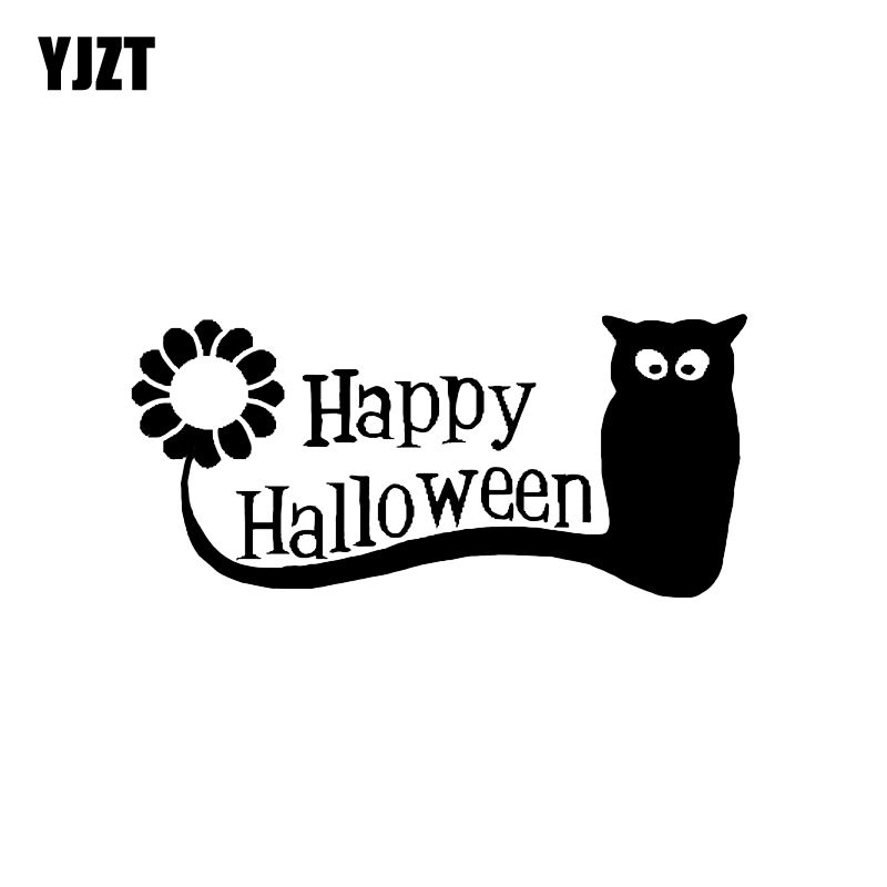 Exterior Accessories Automobiles & Motorcycles Helpful Yjzt 13.4*6.2cm Coolest Happy Halloween Vinyl Decor Car Stickers Accessories C12-0950 Grade Products According To Quality