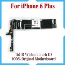 16 ギガバイト iphone 6 plus マザーボードなしタッチ ID 、オリジナルロック解除 iphone 6P と IOS システム、送料無料