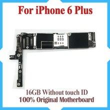 16GB Cho iPhone 6 Plus Bo Mạch Chủ Mà Không Cảm Ứng ID, Ban Đầu Mở Khóa Cho iPhone 6P Mainboard Với IOS Hệ Thống miễn Phí Vận Chuyển