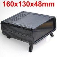 HQ Instrumentation ABS Project Enclosure Box Case Black 160x130x48mm