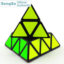 ShengShou Pyramid Magic Cube SengSo Pyraminxeds 3x3x3 Cubo Magico Professional Neo Speed Cube Puzzle Antistress Fidget Toys Kids yongjun diamond symbol 3x3x3 magic cube yj 3x3 professional neo speed puzzle antistress fidget educational toys for children
