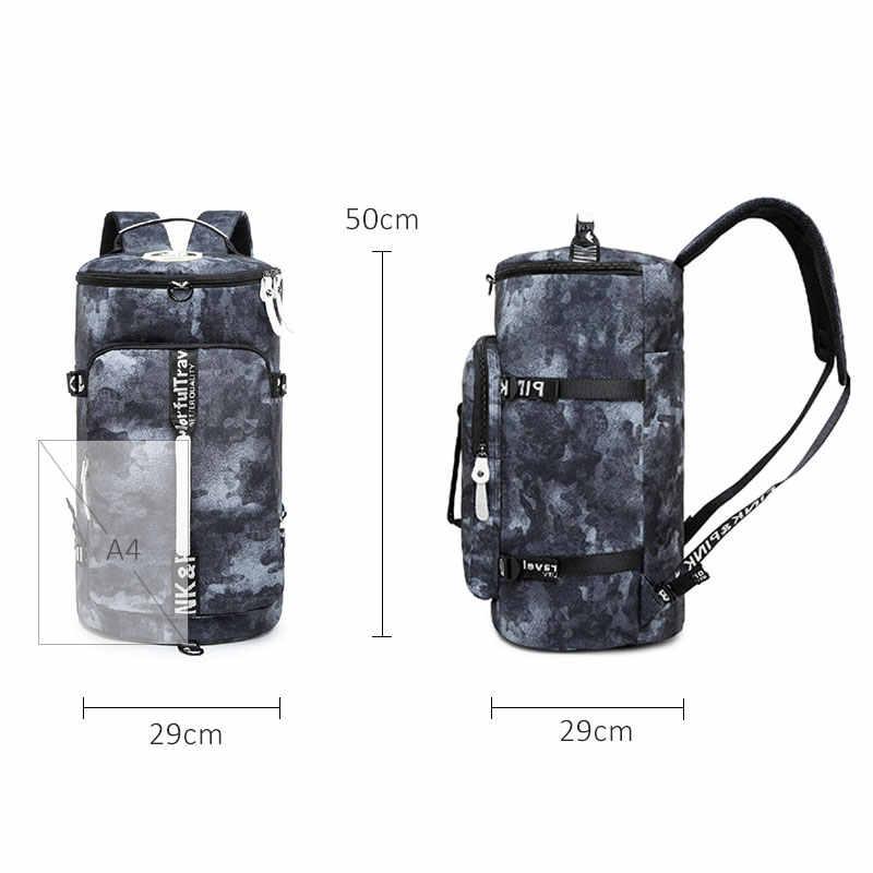 Многофункциональная Большая Дорожная сумка на плечо для мужчин и женщин, повседневные водонепроницаемые мужские/женские рюкзаки для ноутбука, школьные рюкзаки