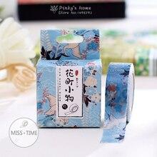 10 Meter Flying Crane Blue Washi Tape Adhesive Tape DIY Scrapbooking Sticker Label Masking Tape