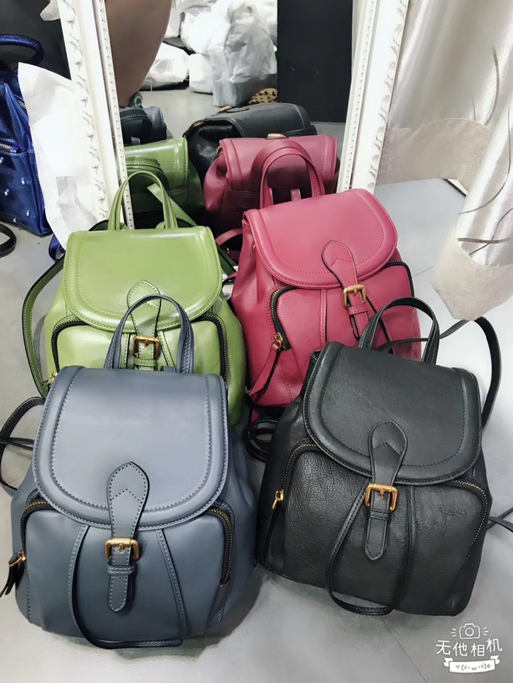Kafunila 100% genuine leather women backpack luxury designer female shoulder bags fashion 2018 new backpack for women travel bag цена