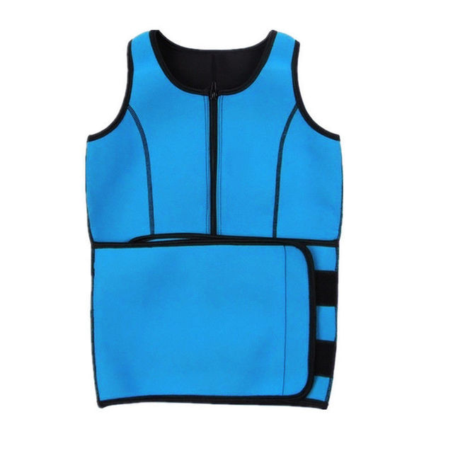Sport Tank Tops Vest Neoprene Sauna Waist Trainer Vest Hot Shapers Shaperwear Slimming Adjustable Sweat Belt Body Waist Shapers 4