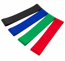 50cm Elastic Tension Resistance Bands 4 Levels Rubber Loops Bands Yoga