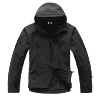 2016 High Quality Lurker Shark Skin Soft Shell Ted V5 0 Military Tactics Jacket Waterproof Windproof