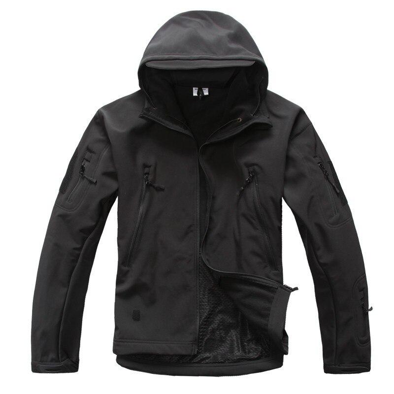 2016 высокое качество скрытень Акула кожа мягкая оболочка ted V5.0 Военная тактика куртка водонепроницаемый ветрозащитный охотник камуфляж военный