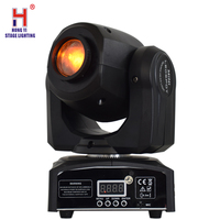 Mini 10W Moving Head Light Spot Light  7 Colors Gobos Effect Professional Stage Light
