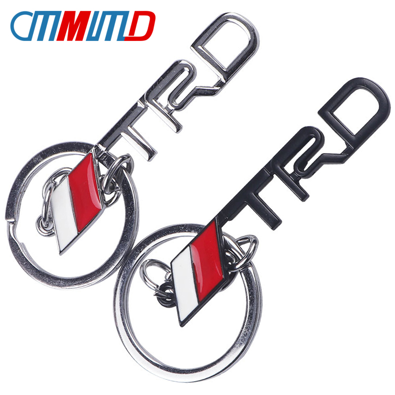 Black Leather Alloy Metal Keychain Ford Logo Emblem Gift Decoration Accessories