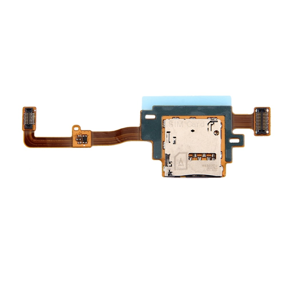 iPartsBuy SIM Card Reader Contact Flex Cable for Galaxy Tab S 10.5 LTE / T805