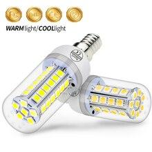 E14 LED Corn Lamp Bulb 220V 5050 SMD Lampara Led 3W 5W 7W 9W Bombillas E27 Energy saving Light For Home 24 30 36 48leds