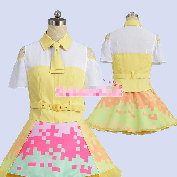 Здесь продается  Anime! Kamen Rider Ex-Aid Poppy Pipopapo Uniforms Female Cosplay Costume top+skirt+panniers+tie+belt+stockings*2 Free Shipping  Одежда и аксессуары