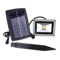 10W Waterproof Flood LED Outdoor Light Garden Decoration LED Solar Light Landscape Spotlight Wall Lamp Bulb