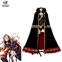 ROLECOS игра FGO Fate Grand заказ косплей костюмы Ereshkigal сексуальное нижнее белье с плащом для женщин Хэллоуин косплей костюмы