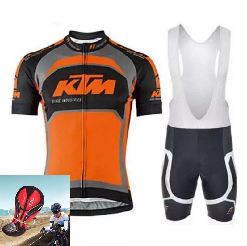 цена на Cycling jersey 2016 Ktm summer style bicycle ropa ciclismo hombre mtb bike sport cycling clothing short sleeve maillot ciclismo