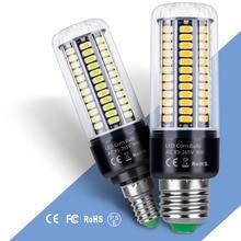 E27 LED 220V Bulb Corn Lamp E14 Led Light Bulb 5736SMD 3.5W 5W 7W 9W 12W 15W 20W Bombillas LED B22 Chandelier Candle Light 110V 6w e14 ses led bulb 5w e14 halogen replacement 110v small edison screw base e14 led corn light bulb