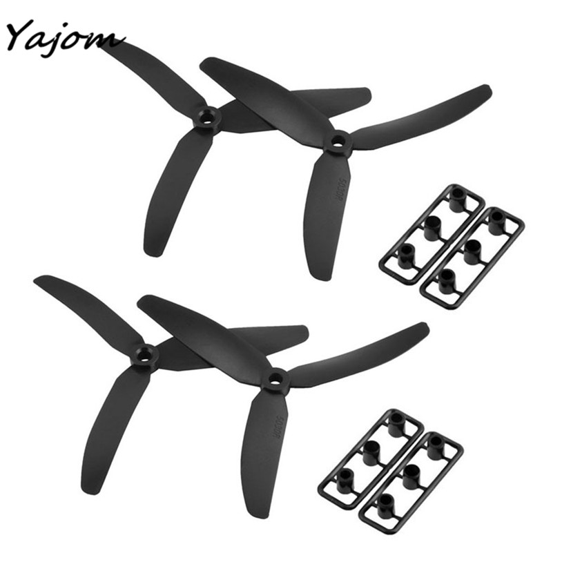 Free for shipping 2 Pair 5x3 5030 3-Leaf Propeller CW/CCW For 250 Frame Kit Mini Quadcopter Brand New High Quality May 1